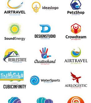 دانلود لوگو های مختلف وکتور لایه باز - شماره 178