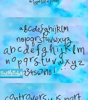 دانلود فونت انگلیسی دستخط - Mix Freo