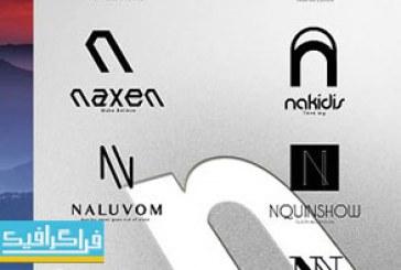 دانلود لوگو های حرف N – لایه باز فتوشاپ و وکتور