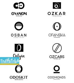 دانلود لوگو های حرف O - لایه باز فتوشاپ و وکتور