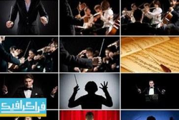 دانلود تصاویر استوک رهبر ارکستر – Orchestra Leader