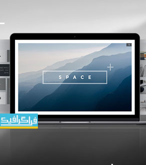 دانلود قالب پاورپوینت حرفه ای و مدرن Space
