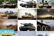 دانلود تصاویر استوک تانک جنگی – War Tanks Stock