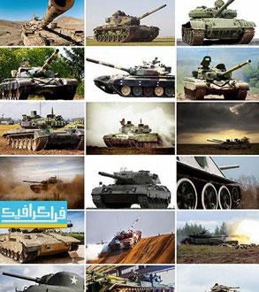 دانلود تصاویر استوک تانک جنگی - War Tanks Stock