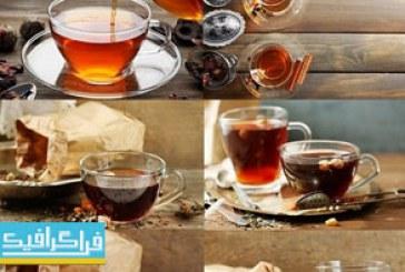 دانلود تصاویر استوک چای در استکان – محیط زیبا