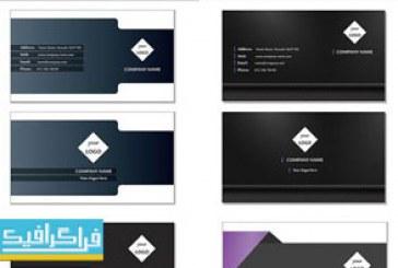 دانلود کارت ویزیت های لایه باز وکتور مختلف – شماره 30