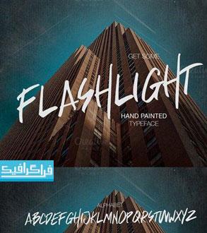 دانلود فونت انگلیسی گرافیکی Flashlight