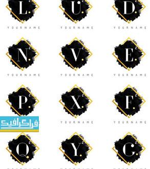 دانلود لوگو های حروف انگلیسی لایه باز وکتور - شماره 11