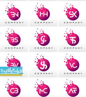 دانلود لوگو های حروف انگلیسی لایه باز وکتور - شماره 13