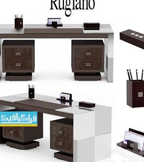 دانلود مدل سه بعدی میز اداری مدرن - 3D Desk