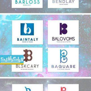 دانلود لوگو های حرف B - لایه باز فتوشاپ و وکتور