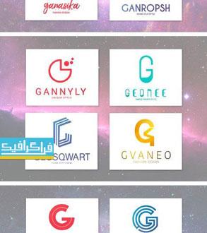 دانلود لوگو های حرف G - لایه باز فتوشاپ و وکتور