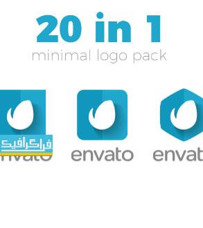 دانلود پروژه افتر افکت 20 نمایش لوگو مینیمال