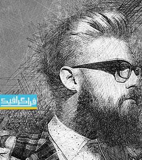 دانلود اکشن فتوشاپ افکت نقاشی با دست - شماره 2