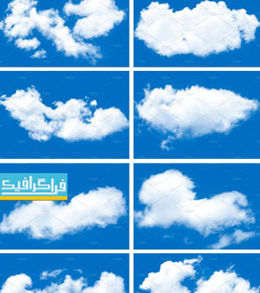 دانلود براش های فتوشاپ ابر Clouds Brushes - شماره 7