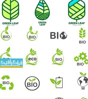 دانلود لوگو های انرژی سبز و پاک - لایه باز وکتور