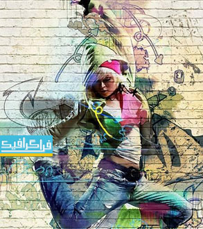 دانلود اکشن فتوشاپ نقاشی گرافیتی - شماره 3