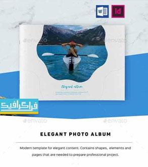 دانلود فایل لایه باز ایندیزاین قالب آلبوم عکس