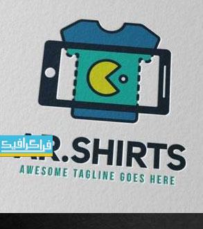 دانلود لوگو حرفه ای تی شرت و موبایل - لایه باز فتوشاپ