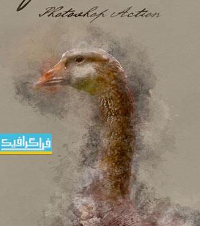 دانلود اکشن فتوشاپ افکت آبرنگ - شماره 6