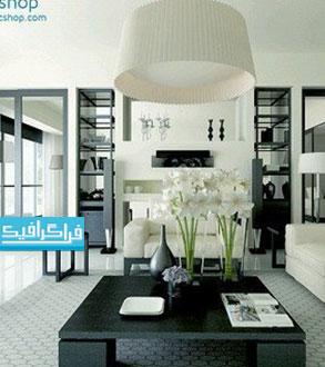 دانلود مدل سه بعدی نمای داخلی آپارتمان مدرن