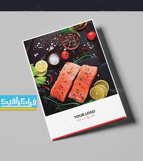 دانلود منوی رستوران فایل لایه باز فتوشاپ - شماره 15