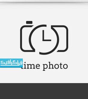 دانلود لوگو دوربین عکاسی و زمان - لایه باز وکتور